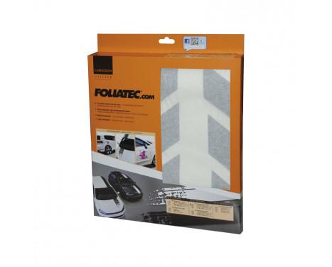 Foliatec Cardesign Sticker - Shades - zwart mat - 77x9cm - 2 stuks, Afbeelding 3