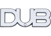 Logo DUB 104x36mm - zelfklevend