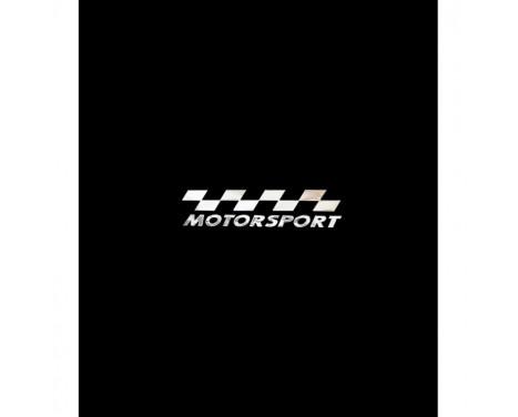 Nikkel Sticker 'MOTORSPORT' - 70x15mm