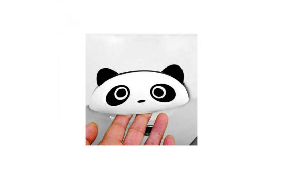 Simoni Racing Sticker 'Panda Po' - Zwart - Set à 2 stuks