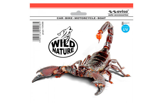 Sticker Scorpion - High Quality - 18,5x14cm