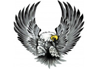 Stickerset Eagles - 2x 15x14,5cm