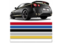 Universele zelfklevende striping AutoStripe Cool200 - Wit - 6 mm x 975 cm