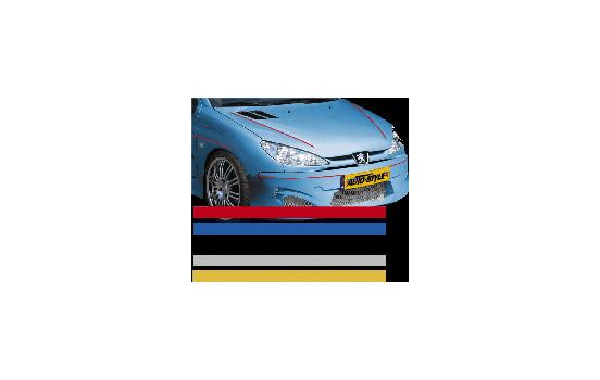 Universele zelfklevende striping AutoStripe Cool200 - Zilver - 3mm x 975cm