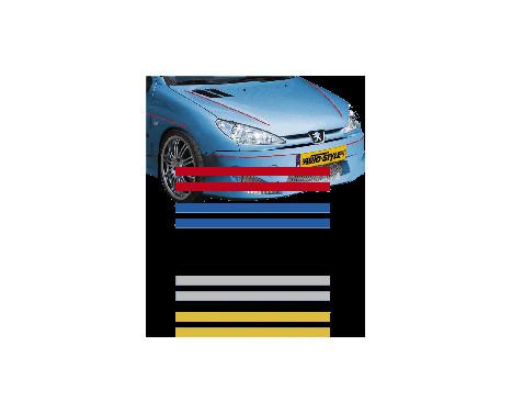 Universele zelfklevende striping AutoStripe Cool270 - Zilver - 2+2mm x 975cm, Afbeelding 2