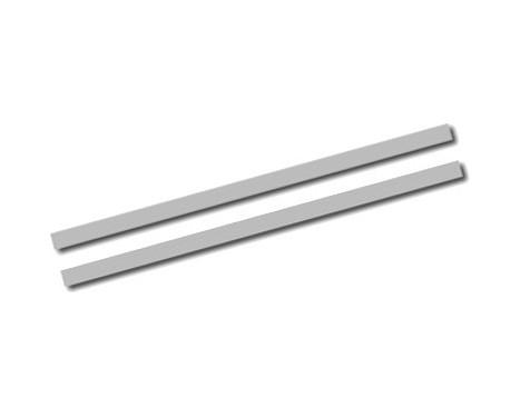 Universele zelfklevende striping AutoStripe Cool270 - Zilver - 2+2mm x 975cm