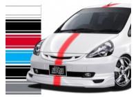 Universele zelfklevende striping RacingStripe 150 - Blauw - 20+90+20mm x 5mtr