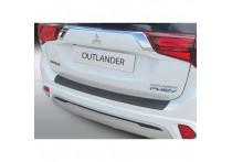 ABS Achterbumper beschermlijst passend voor Mitsubishi Outlander PHEV 2015- Zwart