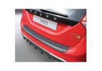 ABS Achterbumper beschermlijst passend voor Volvo V60 Estate 2010- Zwart
