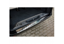 RVS Achterbumperprotector passend voor Mercedes Vito & V-Klasse 2014- 'Ribs'