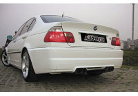 Achterbumper BMW 3-Serie E46 Sedan 1998-2005 'M-Look' (ABS)