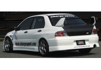 Chargespeed Achterbumperskirt Mitsubishi Lancer EVO 7/8 CT9A (FRP)