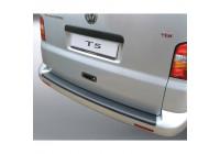 ABS Achterbumper beschermlijst passend voor Volkswagen Transporter T5 2003- Zwart