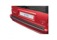 ABS Achterbumper beschermlijst Volvo V70 1996-2000 (voor gespoten bumpers) Zwart