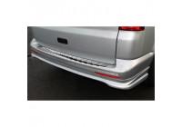 RVS Achterbumperprotector Volkswagen Transporter T5 2003-2015 (alle) & T6 2015- (met achterdeuren) '