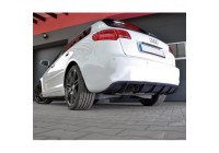 Achterbumperskirt (Diffuser) Audi A3 8P Sportback 2008-2012 (GFK)