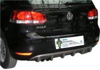 Achterbumperskirt (Diffuser) Volkswagen Golf VI 3/5-deurs 2008-2012 (ABS)