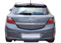 Achterbumperskirt (Diffuser) Opel Astra H GTC 3-deurs 2005-2009 (ABS)