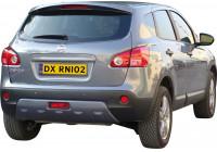 Achterbumperskirt (Skid Plate) Nissan Qashqai 2007-2013