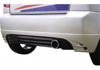 Carcept Achterbumperskirt Citroën C2 '1R' (uitlaatuitsparing rechts)