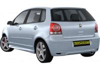 Carcept Achterbumperskirt Volkswagen Polo 9N2 05-2009 'Styling'