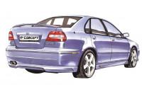 Carcept Achterbumperskirt Volvo S40/V40 Phase I