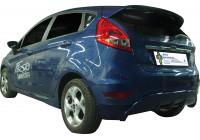 Achterbumperskirt (Diffuser) Ford Fiesta VII 9/2008- (ABS)