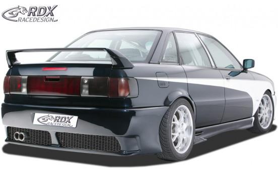 Achterbumper Audi 80 Type 89/B3/B5 + Kentekenplaatuitsparing (GFK)