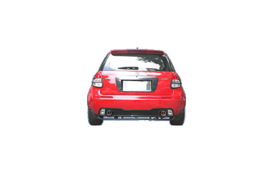 Achterbumper Suzuki SX4 / Fiat Sedici 2006-
