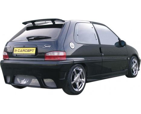 Carcept Achterbumper Citroën Saxo II 1999- excl. VTR/VTS