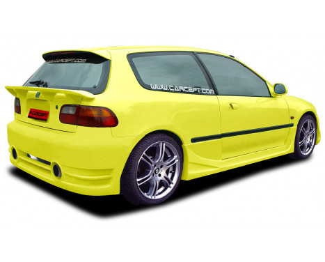 Carcept Achterbumper Honda Civic 2/3-deurs 1992-1995 Extreme, Afbeelding 2
