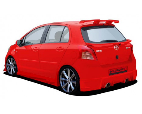 Carcept Achterbumper Toyota Yaris 2006- Extreme, Afbeelding 2