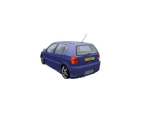 Carcept Achterbumper Volkswagen Polo 6N 1994-1999, Afbeelding 2