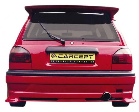 Carcept Achterbumperskirt Nissan Sunny N14 3-deurs, Afbeelding 2