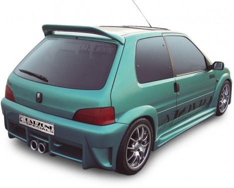 Carzone Achterbumper Peugeot 106 MKII 1996- 'Nitro'