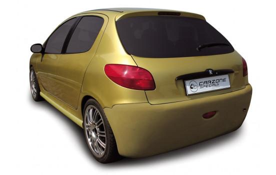 Carzone Achterbumper Peugeot 206 excl. GTi 'Shaver'