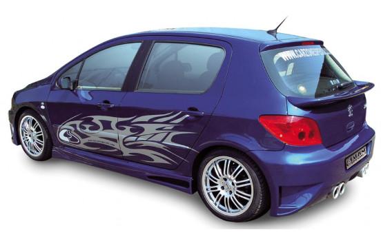 Carzone Achterbumper Peugeot 307 HB 3/5-deurs 'Samurai'