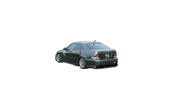 Chargespeed Achterbumper Carbon Diffuser t.b.v. Lexus IS/Altezza SXE10