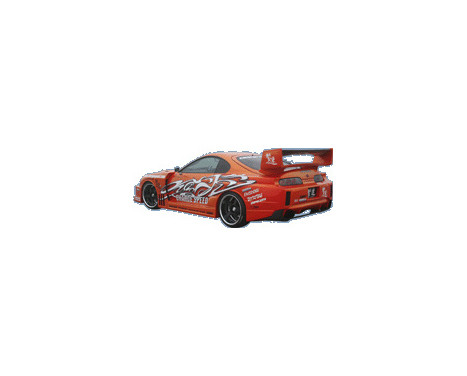 Chargespeed Achterbumper Diffuser Carbon Toyota Supra JZA80