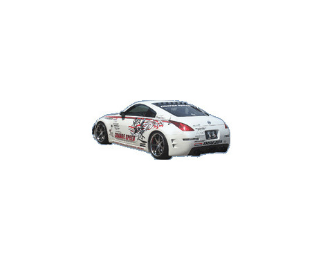 Chargespeed Achterbumper Diffuser Nissan 350Z Z33 Carbon