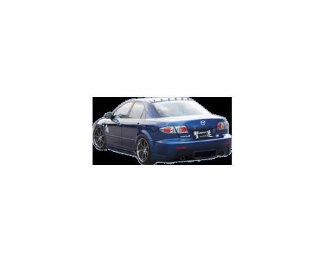 Chargespeed Achterbumper Mazda 6 Fase I -2008, Afbeelding 2