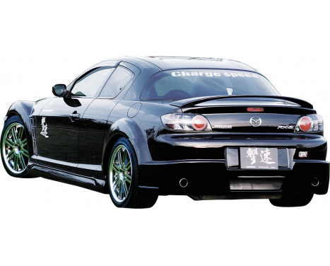 Chargespeed Achterbumper Mazda RX-8 SE3P (FRP)