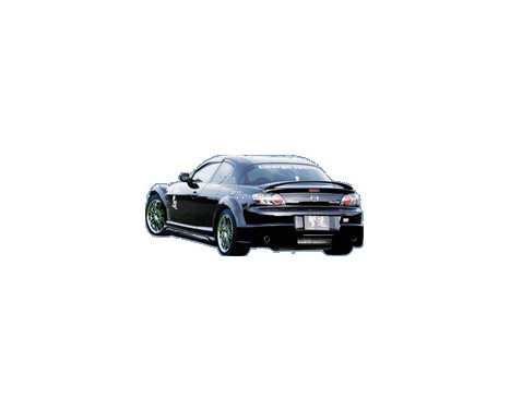 Chargespeed Achterbumper Mazda RX-8 SE3P (FRP), Afbeelding 2