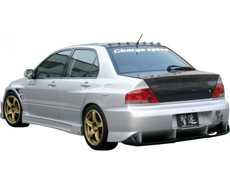 Chargespeed Achterbumper Mitsubishi Lancer EVO 7/8/9 CT9A Type2 incl. Carbon Diffuser