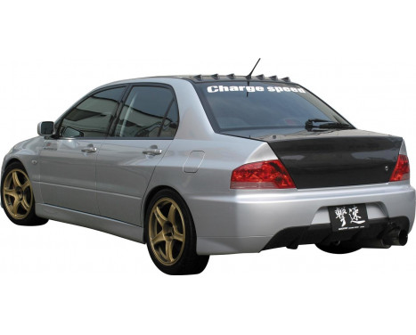 Chargespeed Achterbumper Mitsubishi Lancer EVO 9-look CT9A incl (FRP) Centre