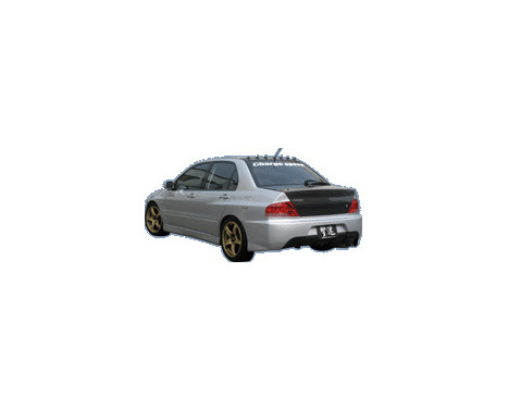 Chargespeed Achterbumper Mitsubishi Lancer EVO 9-look CT9A incl (FRP) Centre, Afbeelding 2
