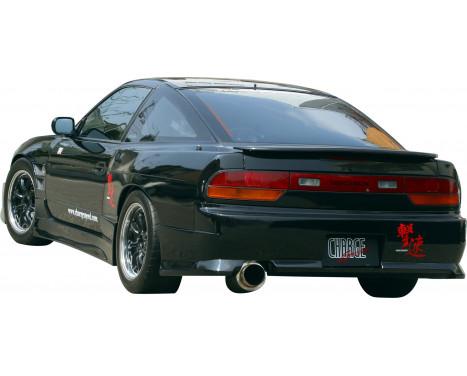 Chargespeed Achterbumper Nissan S13 180SX (FRP), Afbeelding 2