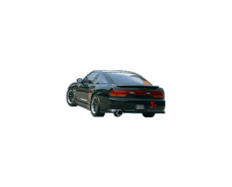 Chargespeed Achterbumper Nissan S13 180SX (FRP)
