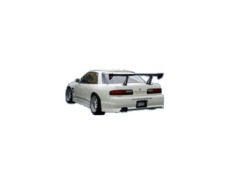 Chargespeed Achterbumper Nissan S13 240SX (FRP)