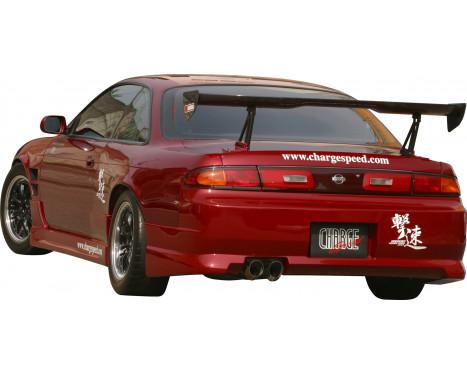 Chargespeed Achterbumper Nissan S14 240SX (FRP), Afbeelding 2
